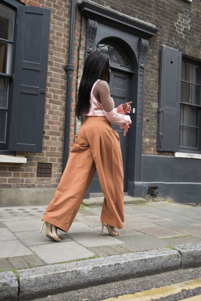 Wide Length Pants - Autumn Season